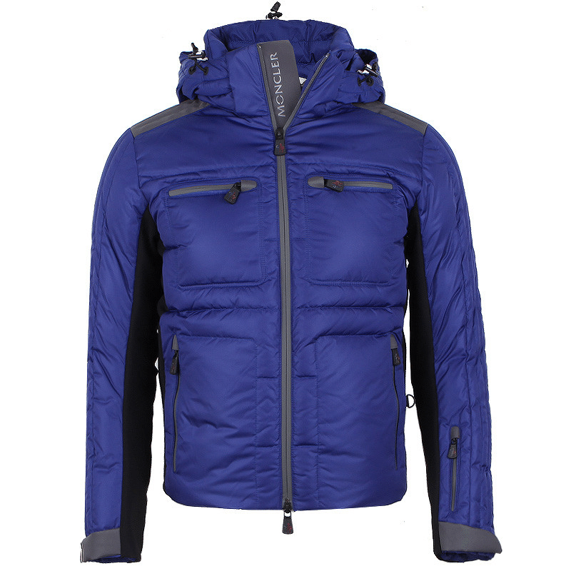 Moncler Grenoble Blagnac Men Jacket Purple Blue
